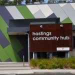 Hastings Community Hub Front